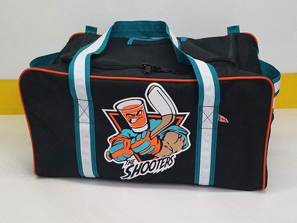 Custom Kenesky Hockey Bag